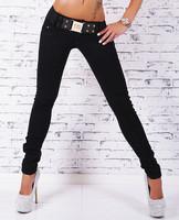 Dámské černé džíny skinny 176c2bd18e