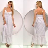 podobné dlouhé letní šaty 999 kč bílé dlouhé letní šaty ...