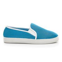 Letní modré nazouvací boty