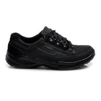 Pánské kožené boty černé