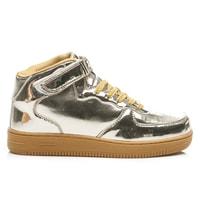 Módní sportovní boty zlaté
