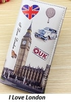 Trendy dámská peněženka I love London