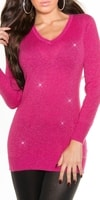 Dlouhý dámský svetr
