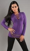 Dámské fialové tričko