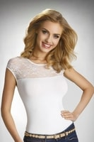 Dámské triko Paulina bílé