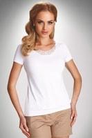 Dámské triko Carlita bílé