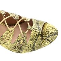 Hadí sandály zelené