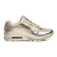 Sportovní boty active zlaté
