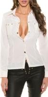 Dámská bílá košile