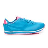 Modro-růžové sportovní boty
