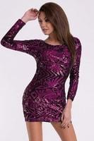 Dámské šaty - fialové
