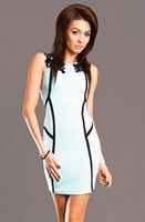 Mint elegantní šaty