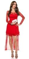Plesové krátké šaty