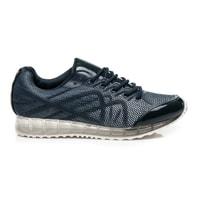 Pohodlné modré sportovní boty