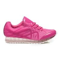 Pohodlné růžové sportovní boty