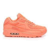 Neonové boty oranžové