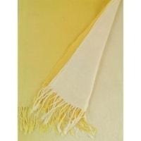 Pašmína bílo-žlutá