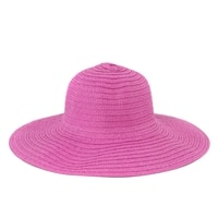"""Dámský plážový klobouk """"slamák"""" růžový"""