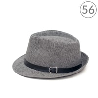 Letní klobouk Trilby Classic šedý