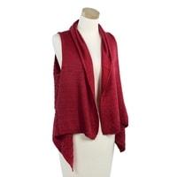 Módní pletená vesta