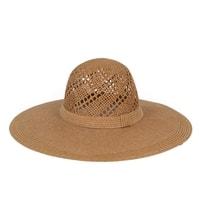 Přírodní letní klobouk béžový