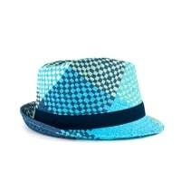 Trilby klobouk Hot Summer modrý