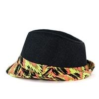 Trilby cikcak klobouk černý