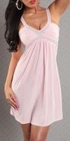 Romantické starorůžové šaty
