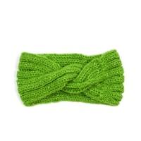 Čelenka s kamínky zelená