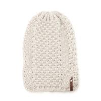 Zimní čepice Plaster Miodu bílá