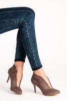 Stylové dámské béžové boty