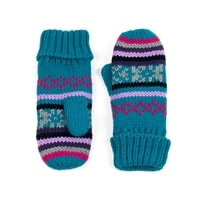 Palcové rukavice Pixel modré