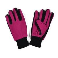 Dámské hezké rukavice růžové