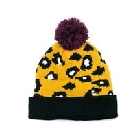 Ozdobená čepice žlutá