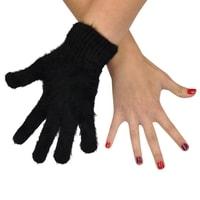 Prstové rukavice s kožíškem