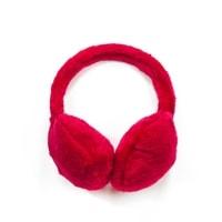 Chlupaté klapky na uši růžové