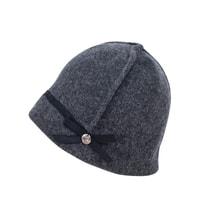Šedý elegantní klobouček
