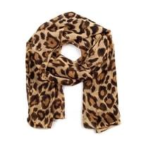 Leopardí šál hnědý