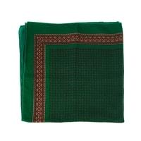 Malý vzorovaný šátek zelený