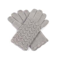 Dámské ažurové rukavice bílé