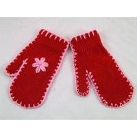 Palcové rukavice červené