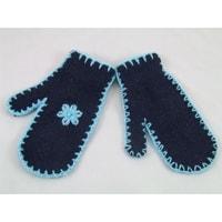 Palcové rukavice modré