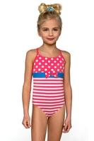 Dívčí jednodílné plavky Anetka růžové - Lorin - Dětské plavky fc81cdf093
