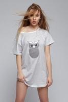 Dámská noční košile Sova