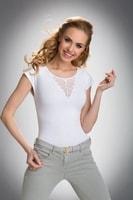 Dámské triko Bela bílé