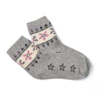 vlněné ponožky šedé