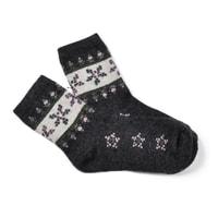 vlněné ponožky antracitové