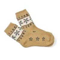 vlněné ponožky hnědé