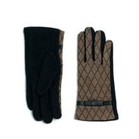 Vlněné rukavice hnědé