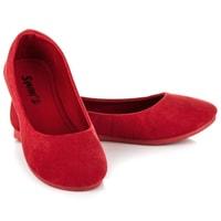 Pohodlné rudé baleríny